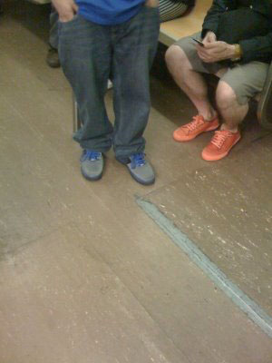 Nike Air Force 1 Low New 6 Tony Parkers & some crazy orange Converse All-Stars